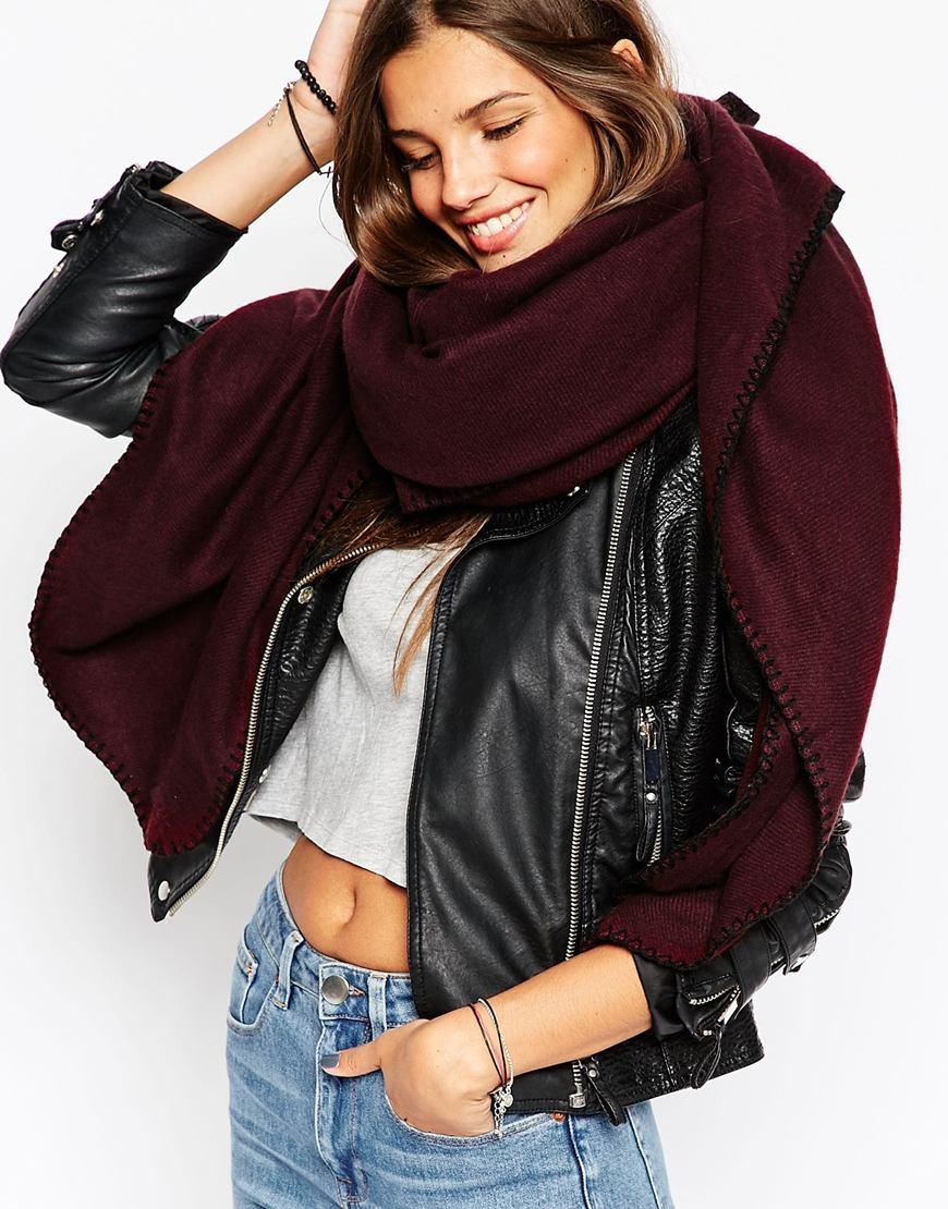893ff4f58d2 Echarpe femme oversize echarpe laine femme mode
