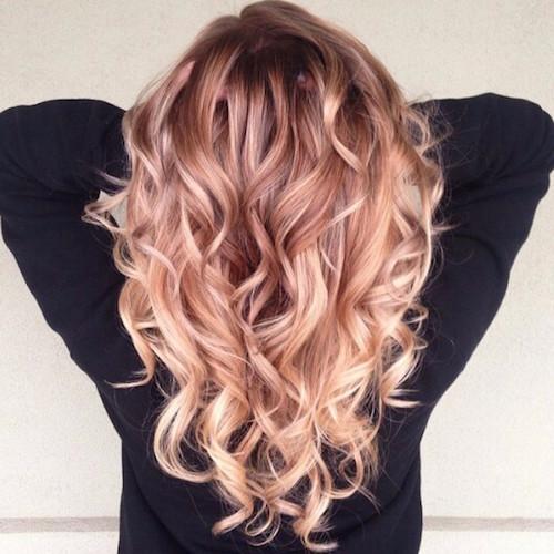 Souvent Le blond fraise : la couleur qui fait des ravages - Les Éclaireuses HQ11