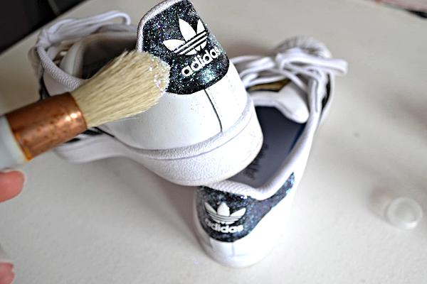 baskets adidas paillettes