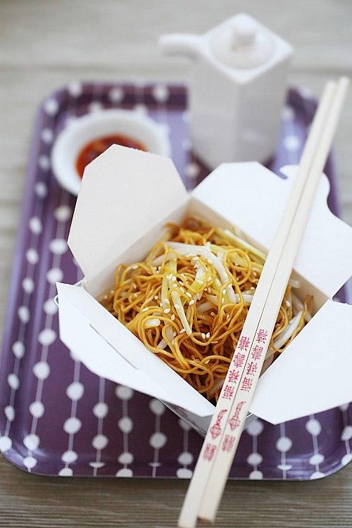 pasta box chinois