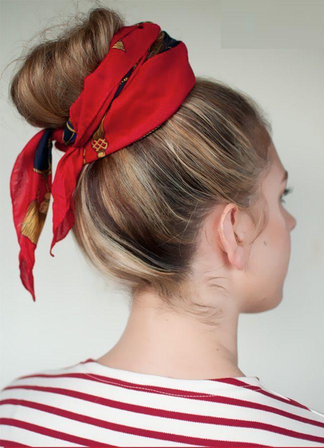 Souvent Comment porter le foulard dans les cheveux avec style ? - Les  RS93