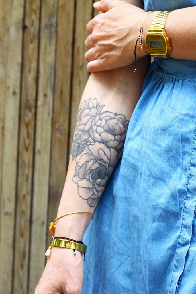 phrase femme tatouée