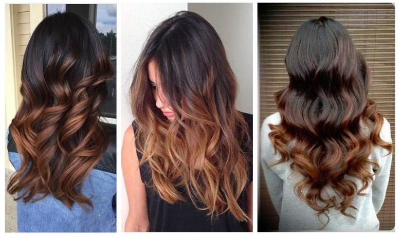 Coloration cheveux 3 couleurs
