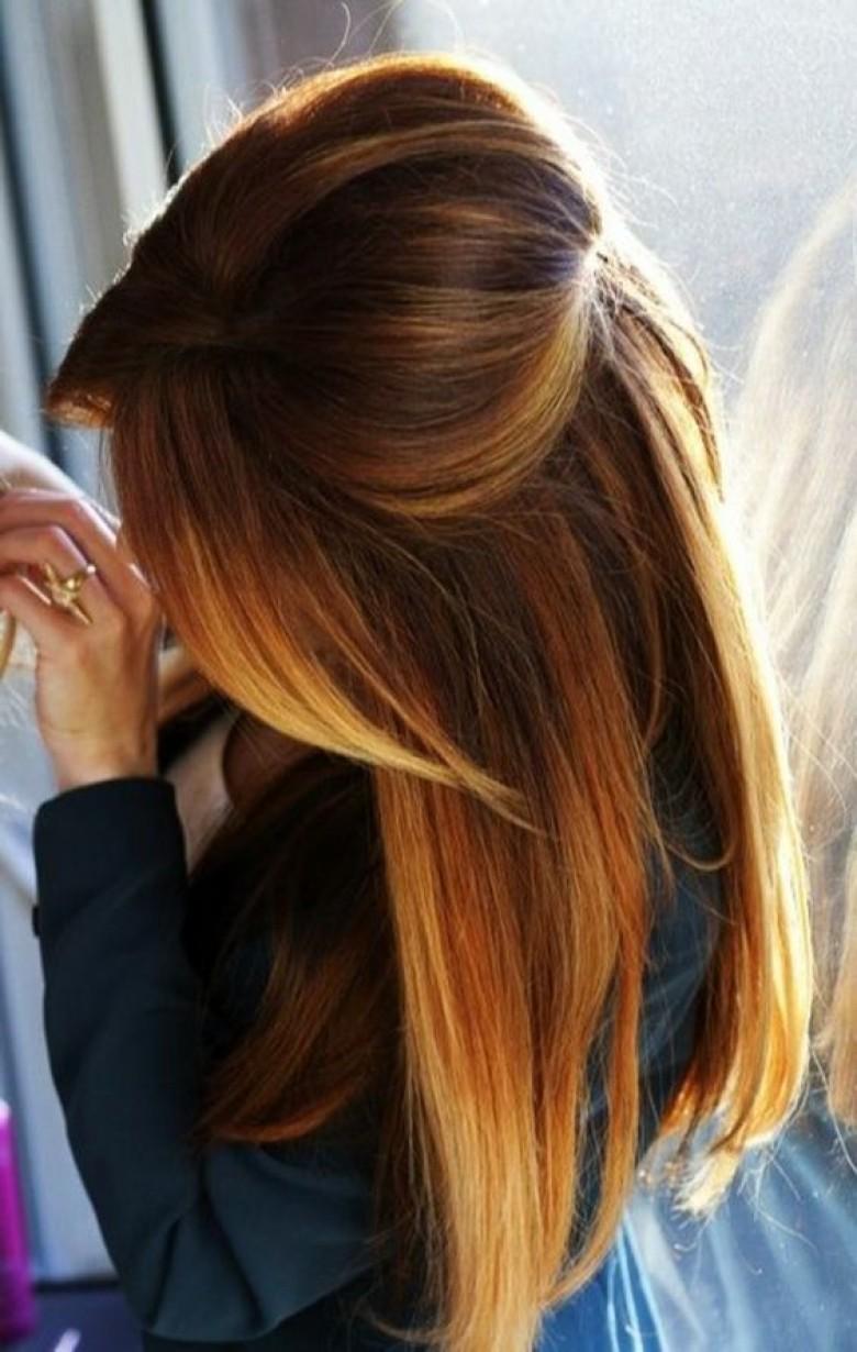 Incroyable Tous les ombrés hair les plus tendances DZ-37