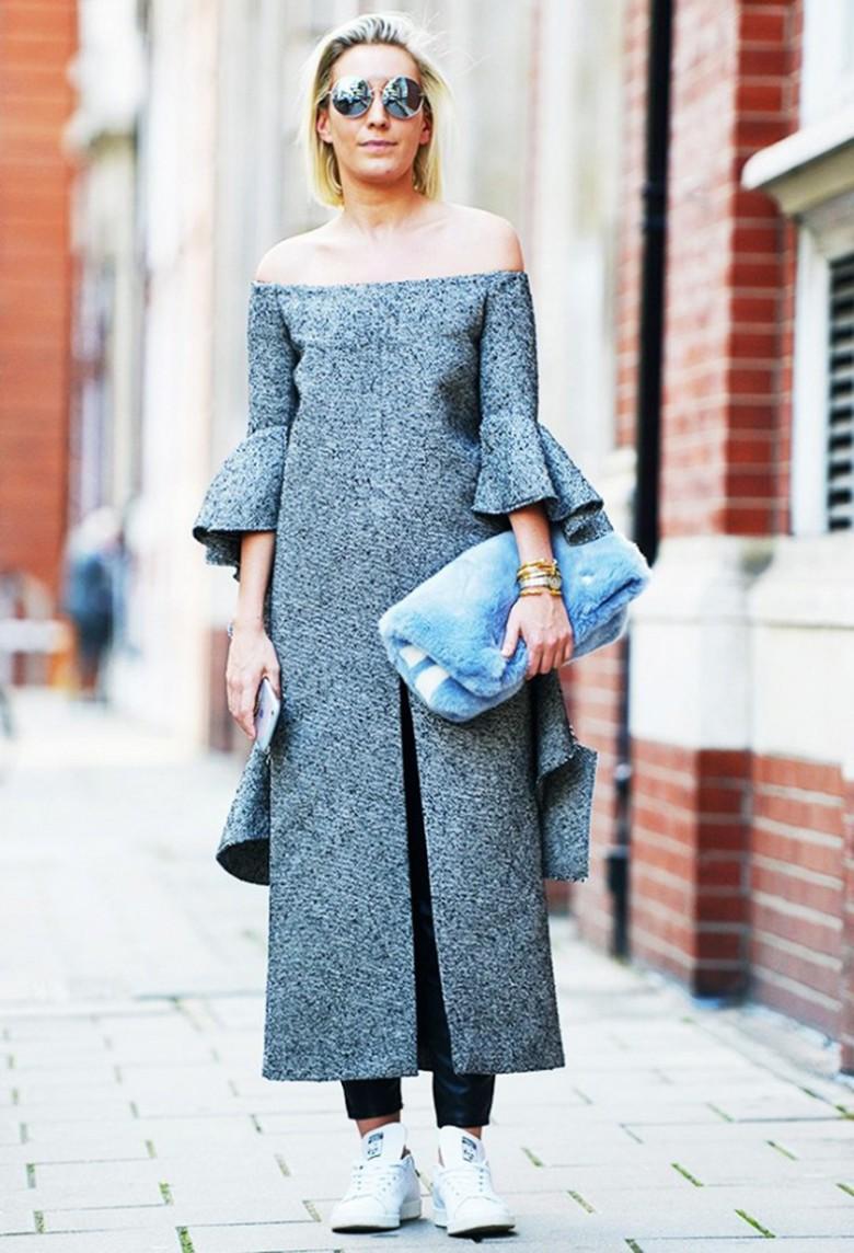 bardot robe hiver