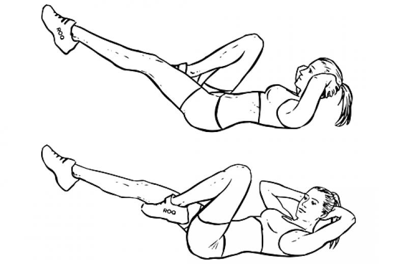 exercice sport abdo