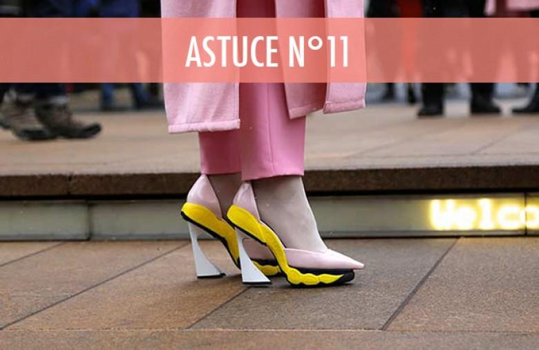 nouvelle chaussure mal au pied