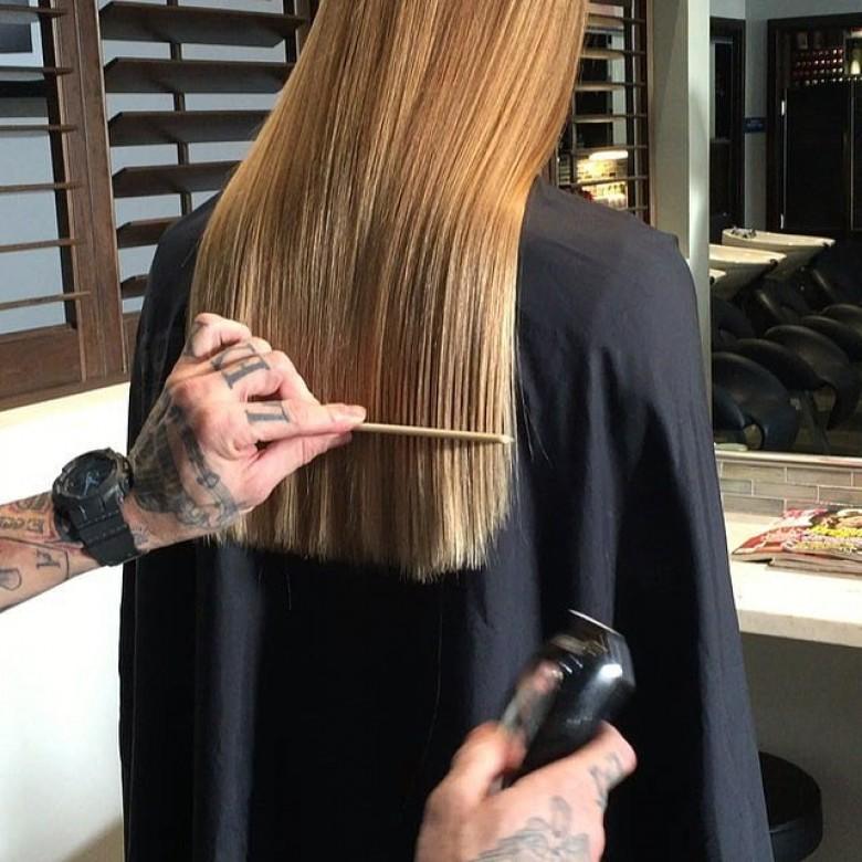 La tondeuse mauvais pour les cheveux
