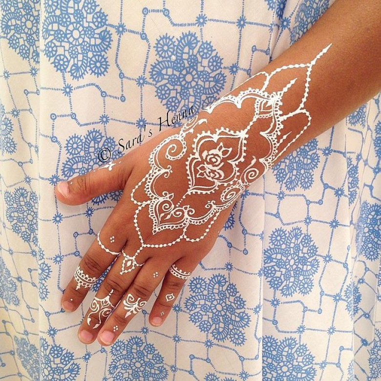 Photo : Sara's henna