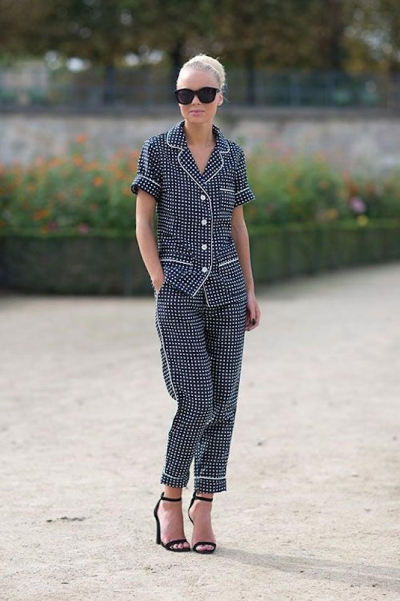 Look pyjama : l'indétrônable tendance des catwalks à adopter !