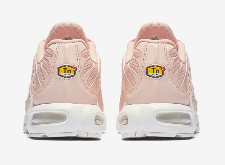 Nike pare ses « Requins » TN d'un rose pastel ultra girly