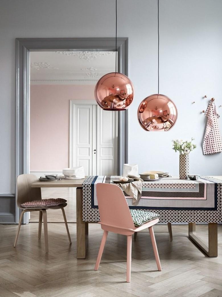 Chambre Gris Blanc Rose 30 pièces de décoration rose gold qui vont sublimer votre