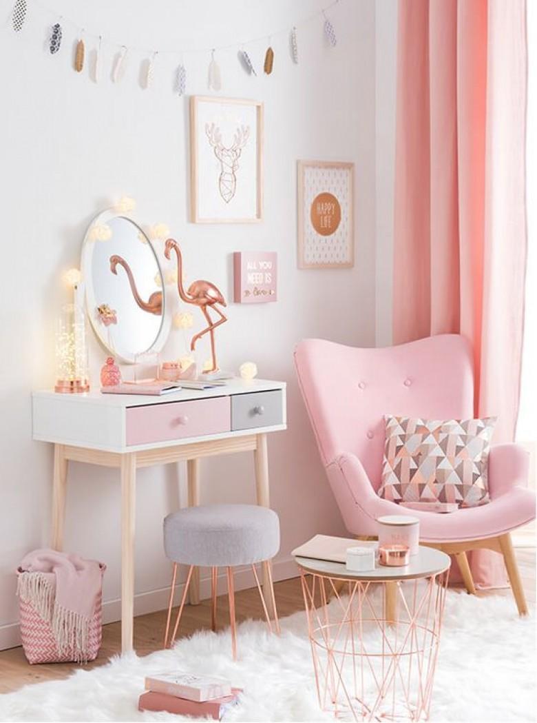 Deco Salon Gris Rose 30 pièces de décoration rose gold qui vont sublimer votre