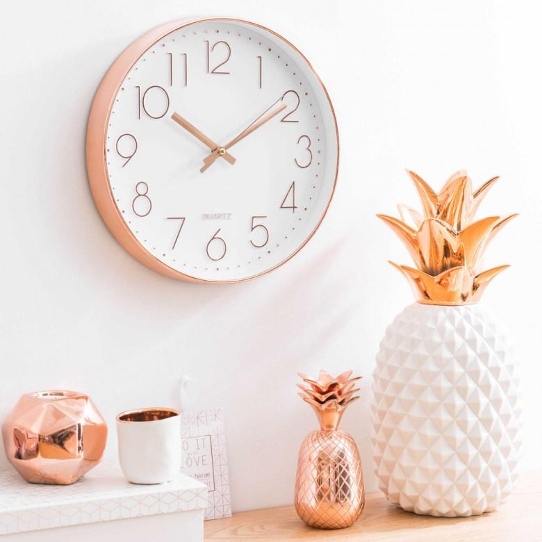 30 pièces de décoration rose gold qui vont sublimer votre ...