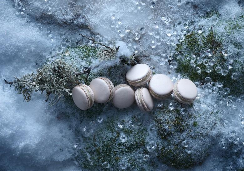 macarons truffe blanche