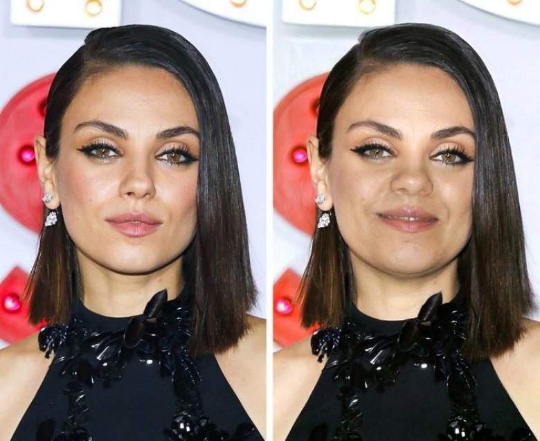 Et si nos célébrités préférées avaient un visage plus rond ?
