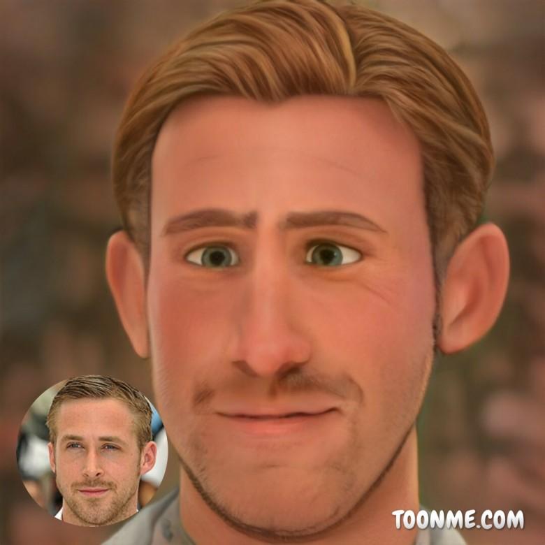 Ryan Gosling, ToonMe