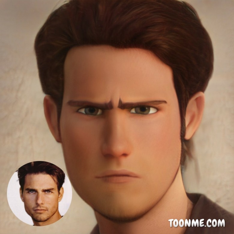 Tom Cruise, ToonMe