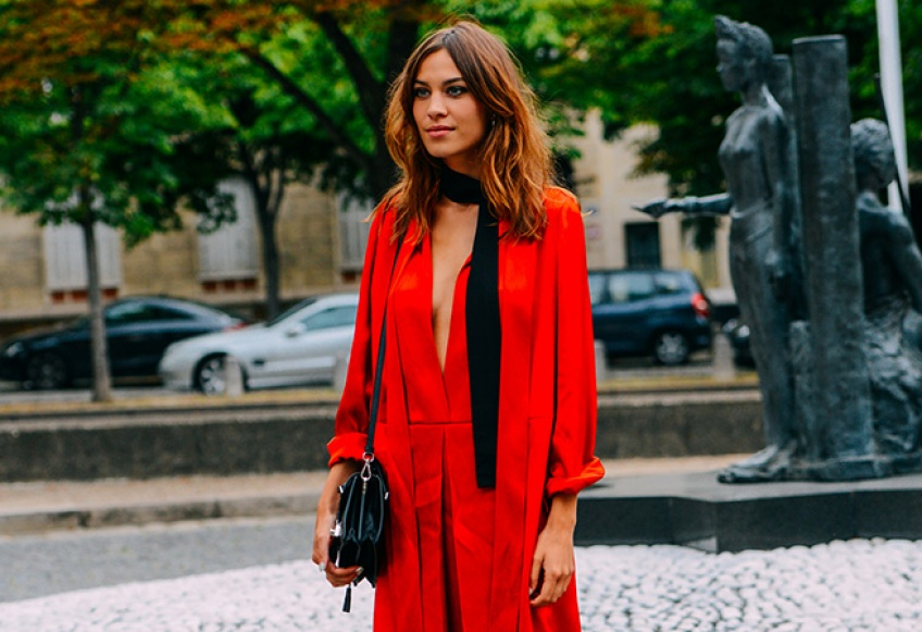Une robe rouge pour Noël