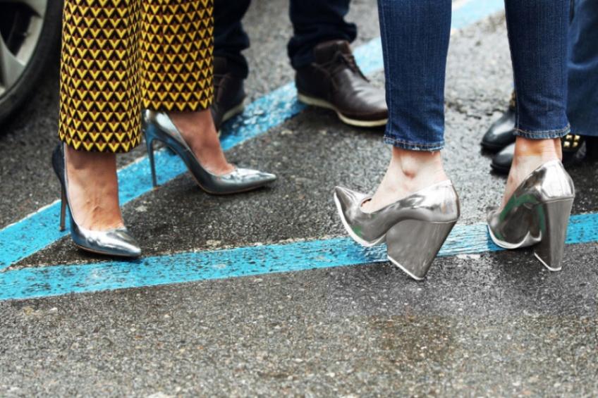 Mardi #Shoesday : Mettez de l'argent à vos pieds !