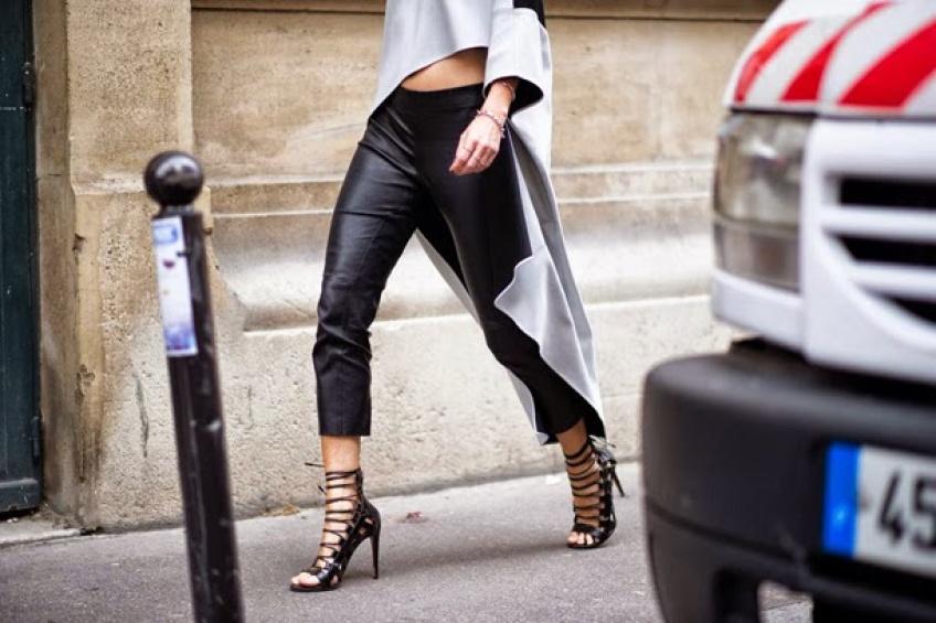 Classe et sexy : le pantalon en cuir