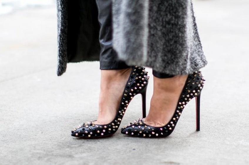 Mardi #Shoesday : La chaussure cloutée pour un look parfait