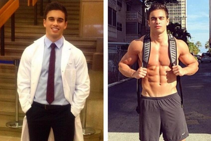 #Hotdude : Le sexy se trouve entre le sport et la médecine !