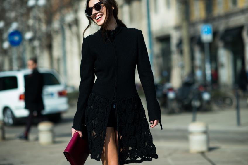 #Blackwear : 40 magnifiques pièces noires pour être ultra-stylée.