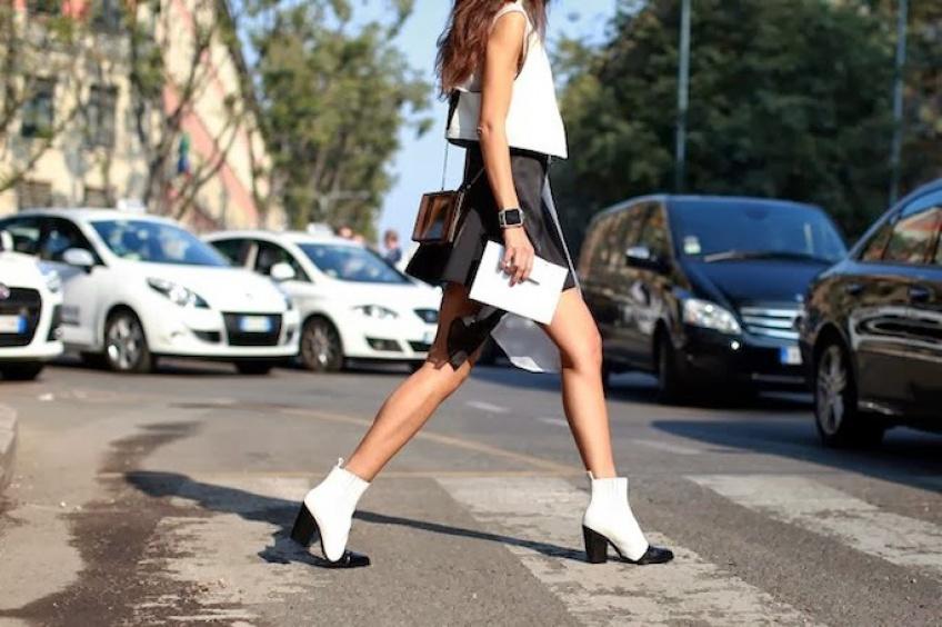 Mardi #Shoesday : Du blanc sur vos pieds !