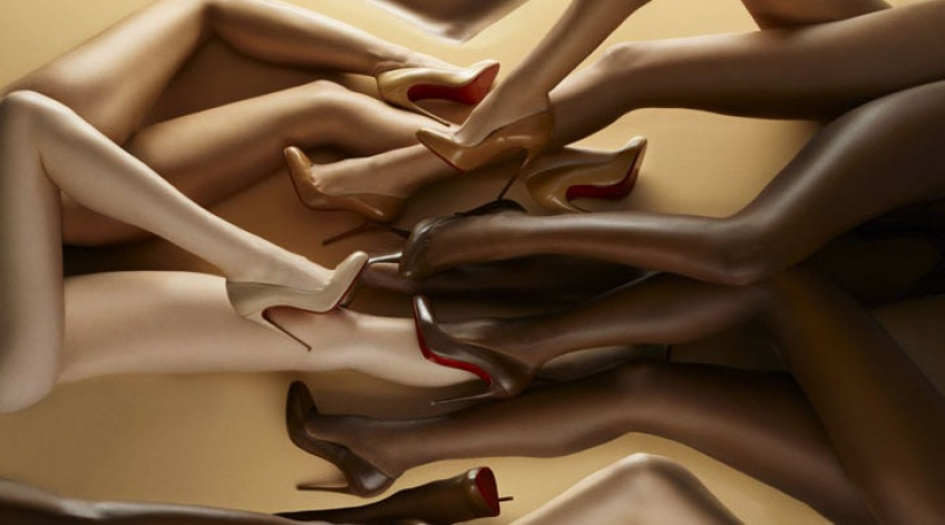 Les escarpins nude selon Louboutin !