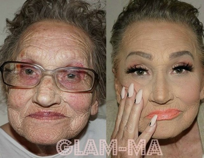 Quand Mamie se met au contouring, on accueille Glam'Ma !