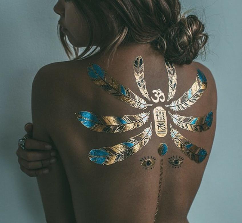 25 tatouages éphémères pour affirmer votre personnalité