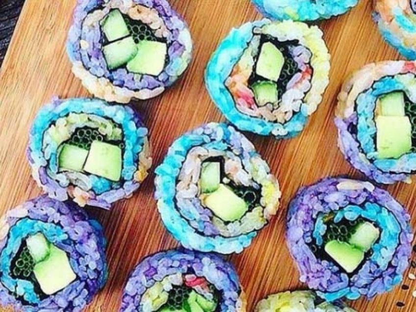 La toute dernière tendance food : le Rainbow Sushi