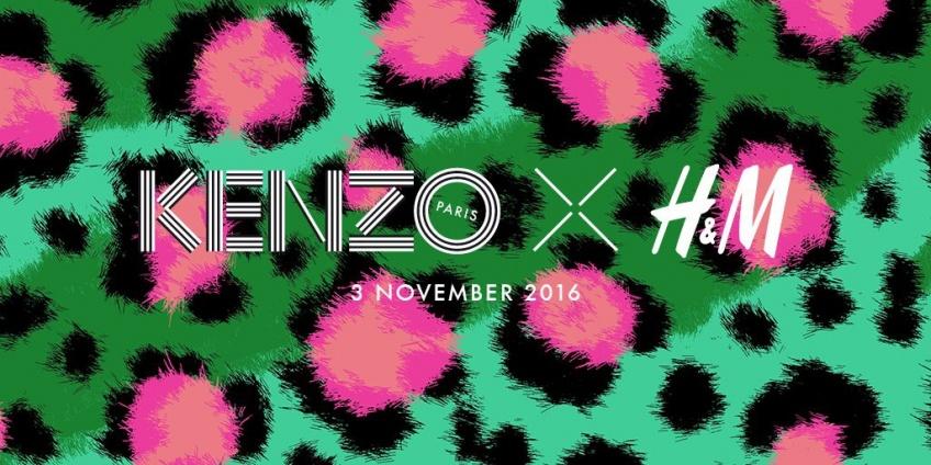 Kenzo x H&M : la collab' annuelle qu'on n'attendait pas !