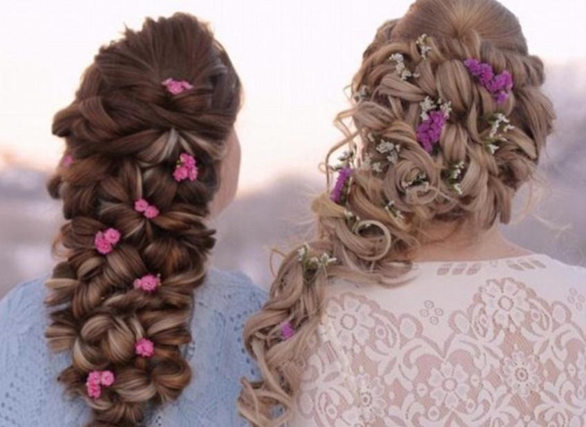 Les deux Norvégiennes qui réalisent des coiffures tressées dignes de Disney