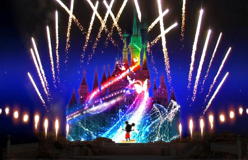 Un nouveau parc Disneyland ouvre ses portes... à Shanghai !