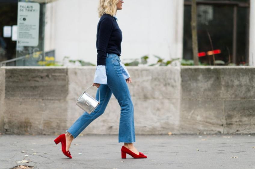 Le cropped jean : le jean le plus tendance du printemps !