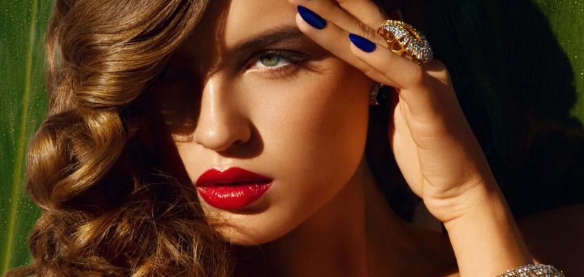 30 idées de nail art bleu nuit