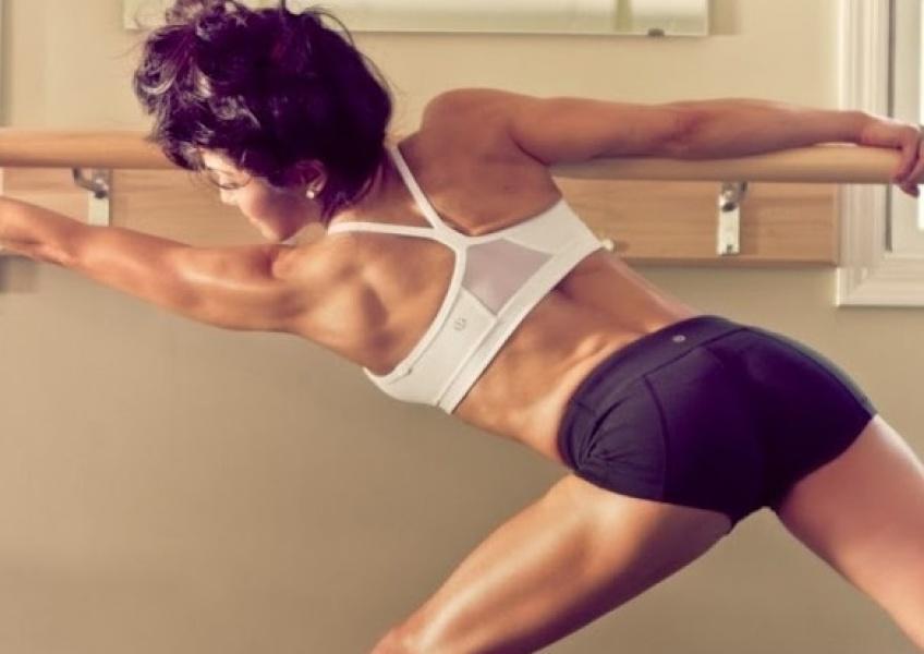 6 exercices avec une barre pour avoir un corps de danseuse
