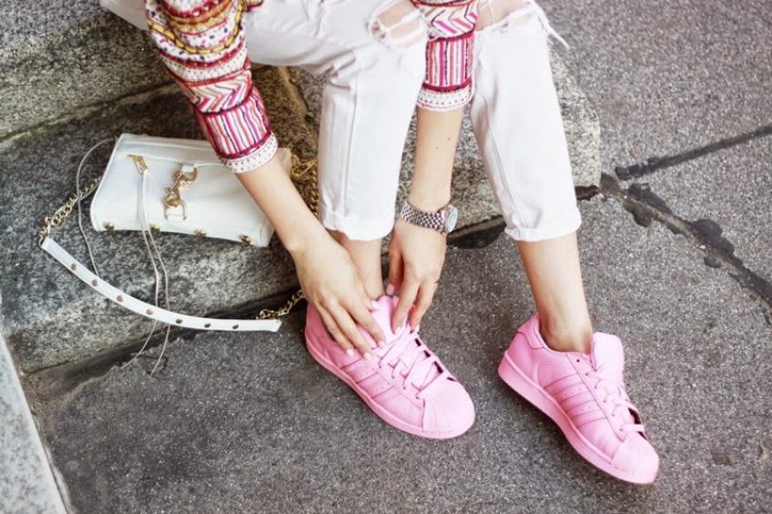 Mardi #Shoesday : 20 paires de baskets color block pour l'été !