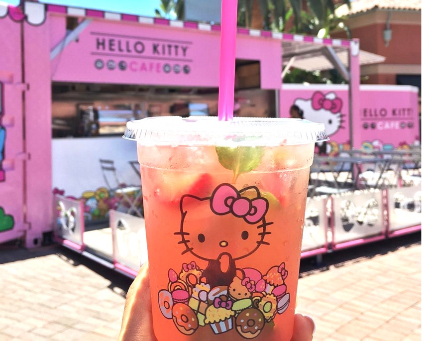 Un Food Truck Hello Kitty pour des gourmandises girly !