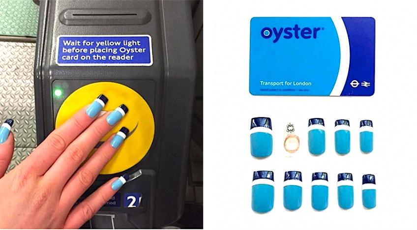 Votre pass de métro intégré dans votre manucure ? C'est possible !