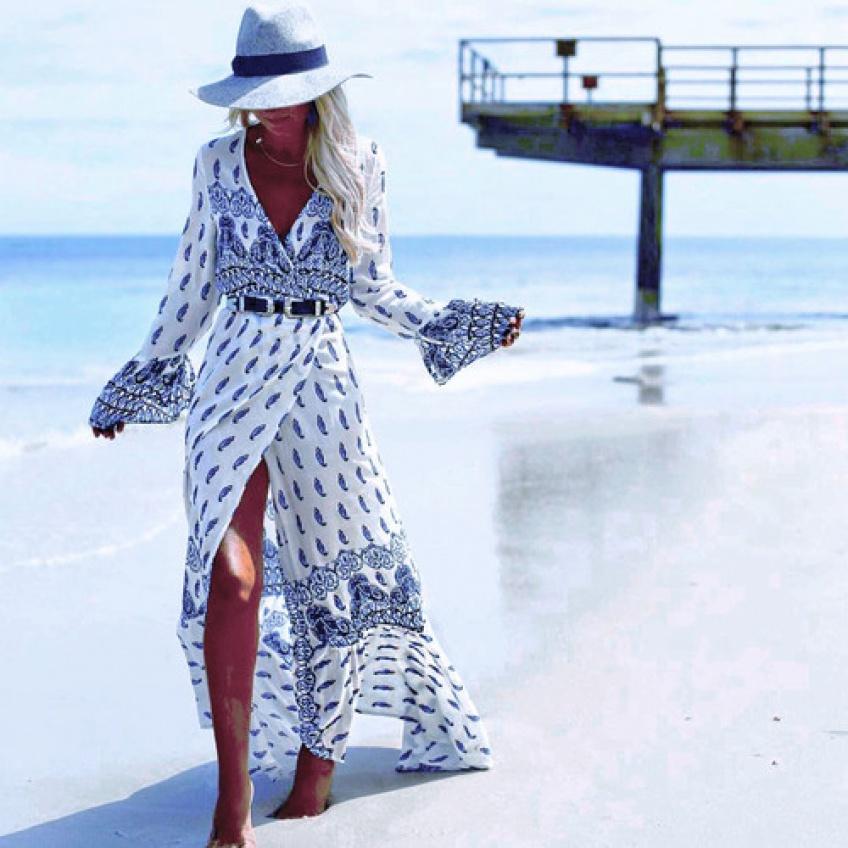 20 superbes maxi dress de plage pour rayonner tout l'été