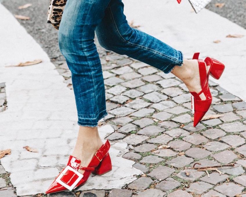 Mardi #Shoesday : Des vernies pour des pieds brillants