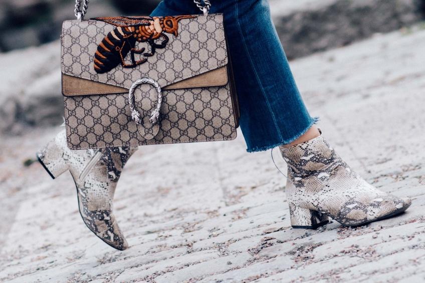 Mardi #Shoesday : De l'imprimé serpent à vos pieds !