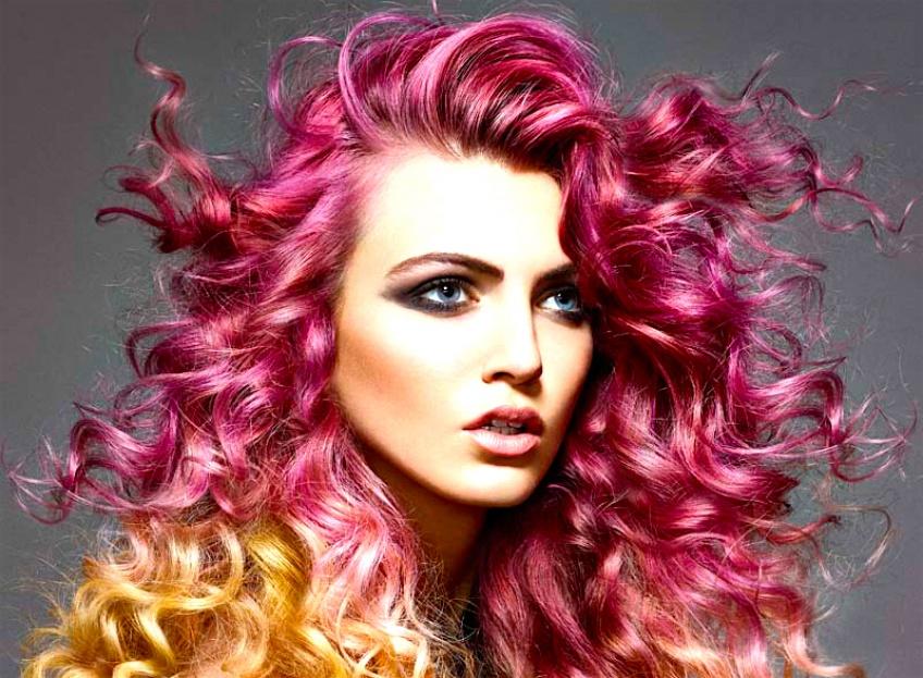 Tendance : L'ombré rose et violet pour une coloration pop et éclatante