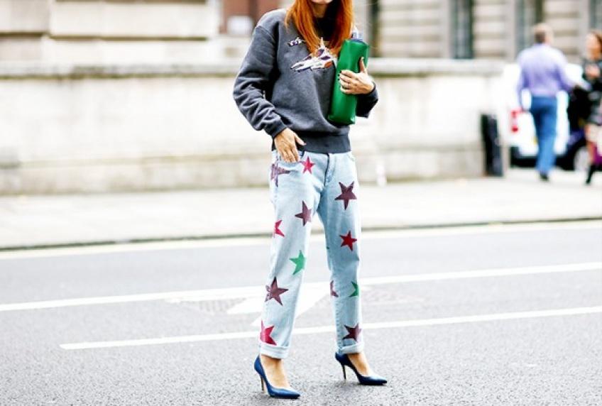Un jean à motifs pour pimper votre dressing !