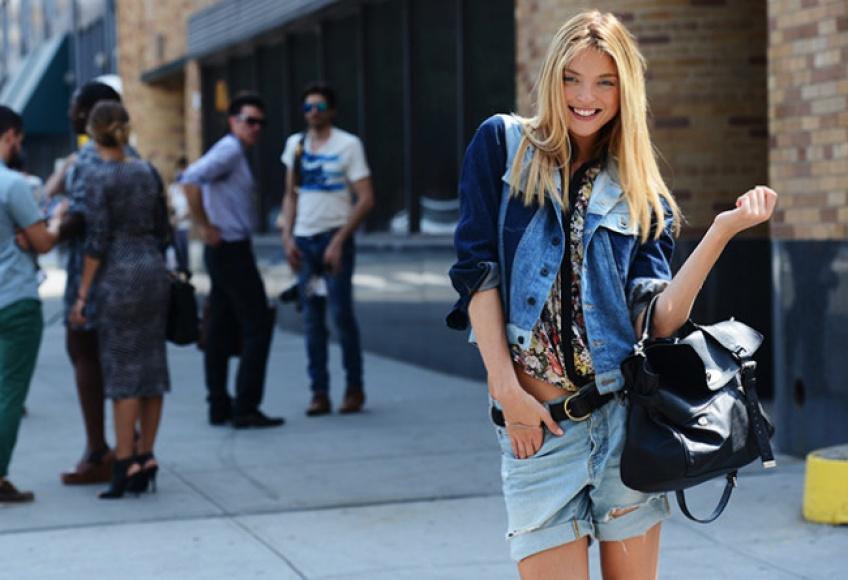 Un patchwork de denim pour bousculer vos jeans !