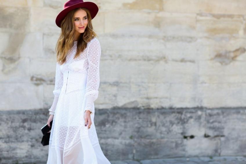 20 robes blanches pour un automne lumineusement looké  !