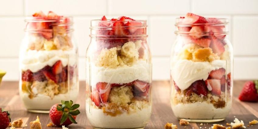 5 délicieux desserts healthy à base de fraise